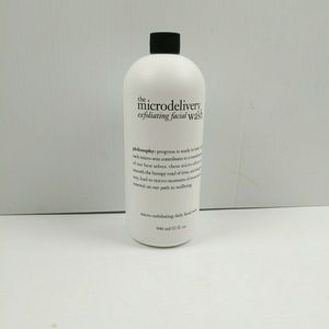 NEW Philosophy Microdelivery Exfoliate Face Wash